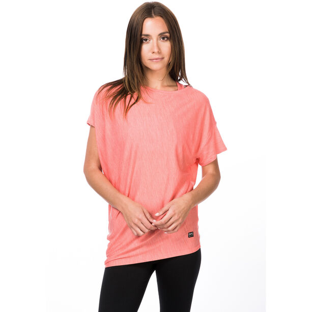 super.natural Yoga Loose T-shirt Dam georgia peach melange
