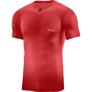 Salomon S/Lab Exo Half Zip SS Tee Herr racing red racing red