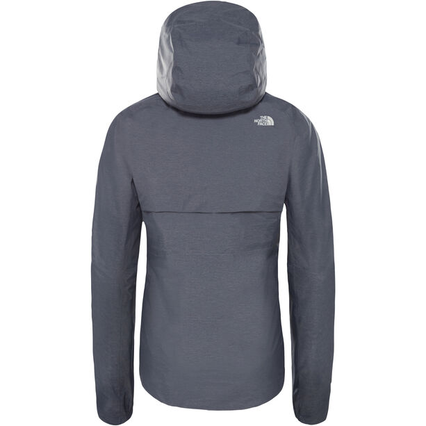 The North Face Inlux Dryvent Jacket Dam grisaille grey white heather