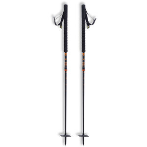 black crows Duos Freebird Touring Ski Poles Black/Orange Black/Orange