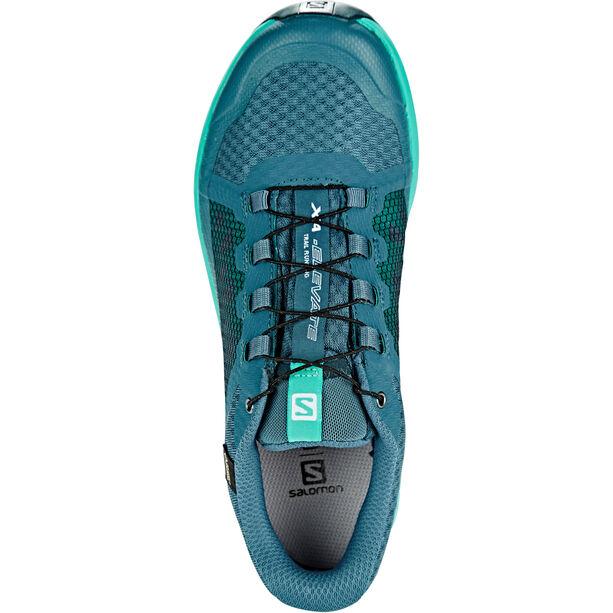 Salomon XA Elevate GTX Shoes Dam mallard blue/atlantis/reflecting pond