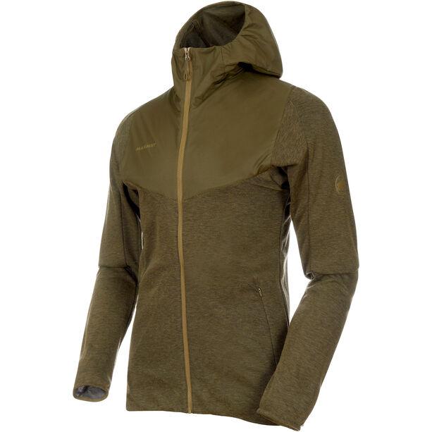 Mammut Alvra ML Hooded Jacket Herr olive melange-pink
