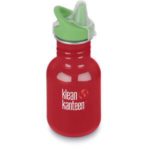 Klean Kanteen Kid Classic Bottle Sippy Cap 355ml Barn mineral red mineral red