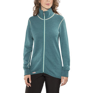 Woolpower 400 Full Zip Jacket Colour Collection petrol/champagne petrol/champagne