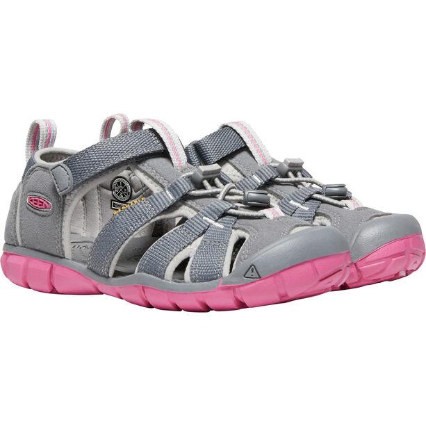 Keen Seacamp II CNX Sandals Barn steel grey/rapture rose