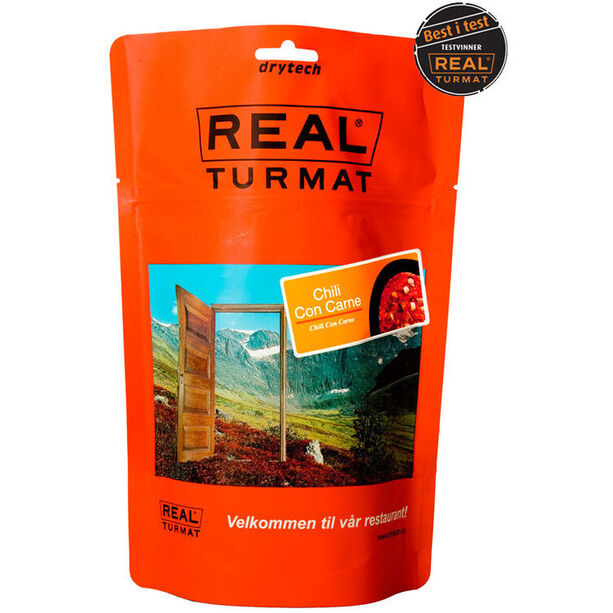 Real Turmat Outdoor Meal 500g Chili con carne
