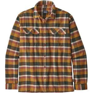Patagonia Fjord LS Flannel Shirt Herr observer/wren gold observer/wren gold