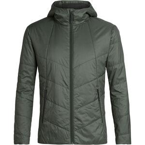 Icebreaker Helix Hooded Jacket Herr Forestwood/Black Forestwood/Black