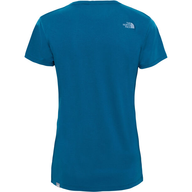 The North Face Easy S/S Tee Dam blue coral
