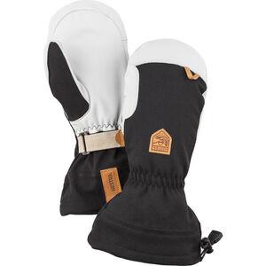 Hestra Army Leather Patrol Gauntlet Mittens black black