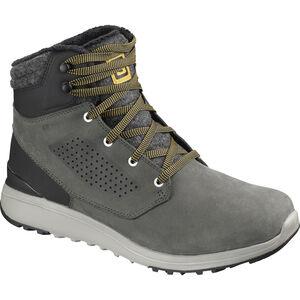 Salomon Utility Winter CS WP Shoes Herr beluga/black/green sulphur beluga/black/green sulphur