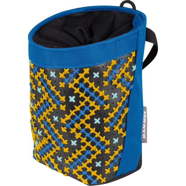Mammut Stitch Chalk Bag dark cyan-black