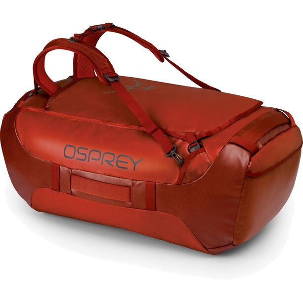 Osprey Transporter 95 Backpack ruffian red