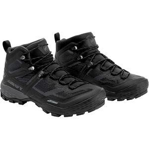 Mammut Ducan Mid GTX Shoes Herr black-dark titanium black-dark titanium