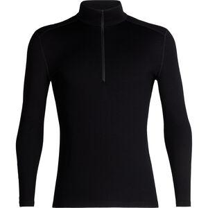 Icebreaker 260 Tech LS Half Zip Shirt Herr black black