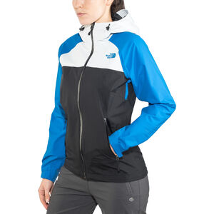 The North Face Stratos Jacket Dam tnf black/tin grey/bomber blue tnf black/tin grey/bomber blue