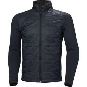 Helly Hansen Lifaloft Hybrid Insulator Jacket Herr graphite blue matte graphite blue matte