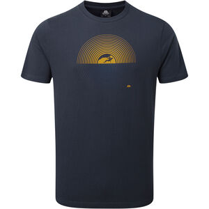 Mountain Equipment Prism Tee Herr ombre blue ombre blue
