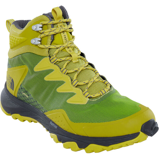 The North Face Ultra Fastpack III Mid GTX Shoes Herr citronelle green/zinc grey
