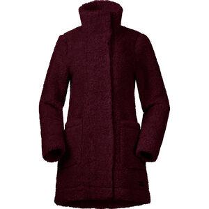 Bergans Oslo Wool LooseFit Jacket Dam Zinfandel Red Melange Zinfandel Red Melange