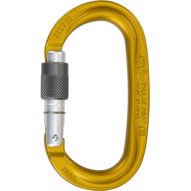 Climbing Technology Pillar Pro SG Carabiner yellow