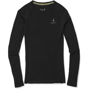 Smartwool Merino 200 Baselayer Long Sleeve Dam Black Black