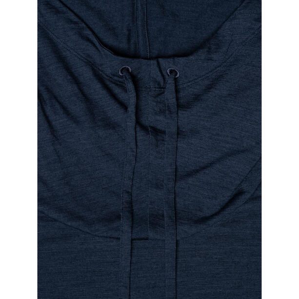 super.natural Funnel Hoodie Dam blue iris melange