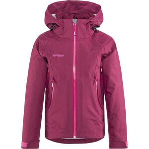 Bergans Ervik Jacket Flickor dusty cerise/cerise/hot pink
