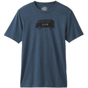 Prana Will Travel Journeyman T-Shirt Herr Denim Heather Denim Heather