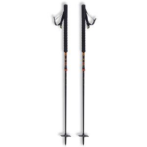 black crows Duos Freebird Touring Ski Poles Black/Orange Black/Orange