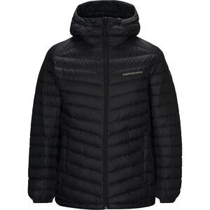 Peak Performance Frost Down Hood Jacket Herr black black