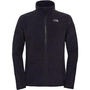 The North Face 100 Glacier Full Zip Jacket Herr tnf black tnf black