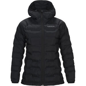 Peak Performance Argon Hood Jacket Dam Black Black