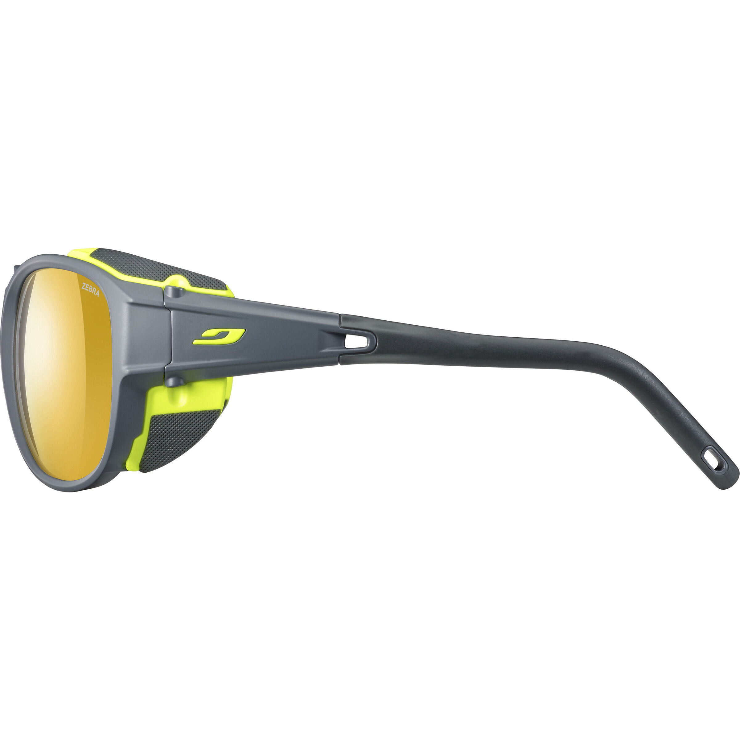 Julbo Explr 2.0 Zebra Sunglasses matt graygreen yellowbrown