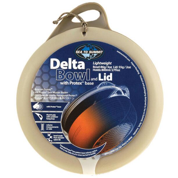 Sea to Summit Delta Bowl with Lid grey/grey