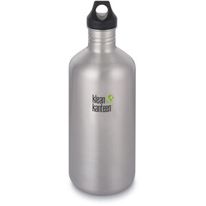 Klean Kanteen Classic Bottle Loop Cap 1900ml brushed stainless brushed stainless