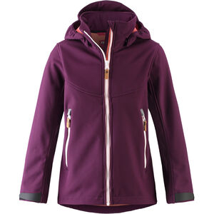 Reima Vandra Softshell Jacket Flickor Deep Purple Deep Purple