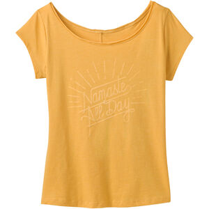 Prana Longline Tee Dam shine sunray heather shine sunray heather
