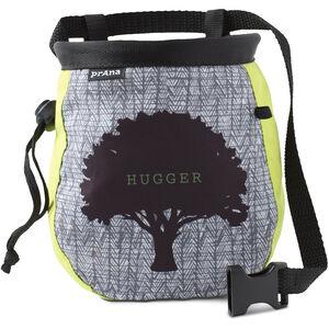 Prana Graphic Chalk Bag with Belt Lime Tree Hugger Lime Tree Hugger