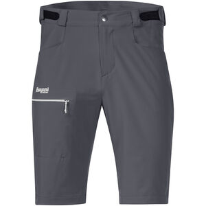 Bergans Slingsby LT Softshell Shorts Herr solid dark grey/sprout green solid dark grey/sprout green