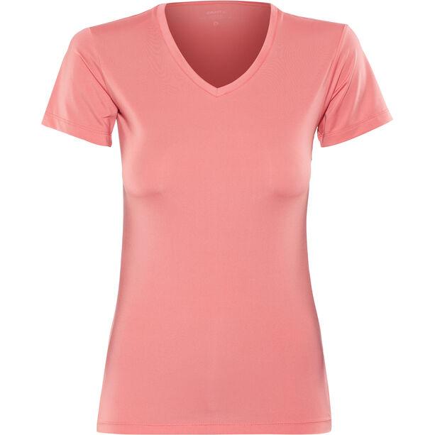 Craft Essential VN SS Shirt Dam dahlia