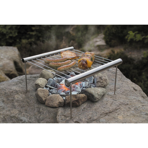 UCO Grilliput Bärbar Campinggrill steel