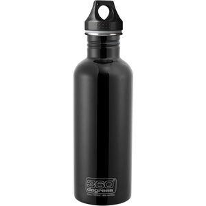 360° degrees Stainless Drink Bottle 1000ml black black