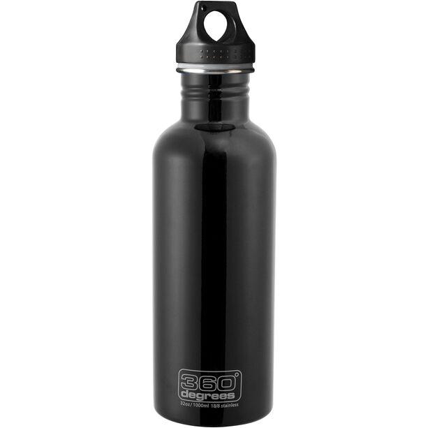 360° degrees Stainless Drink Bottle 1000ml black