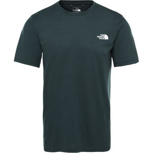 The North Face Reaxion Amp Crew T-Shirt Herr ponderosa green heather ponderosa green heather