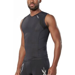 2XU Compression Sleeveless Top Herr black/black black/black