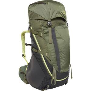 The North Face Terra 55 Backpack Dam tnf dark grey heather/four leaf clover tnf dark grey heather/four leaf clover