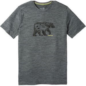 Smartwool Merino Sport 150 Bear Camp Tee Herr medium gray heather medium gray heather