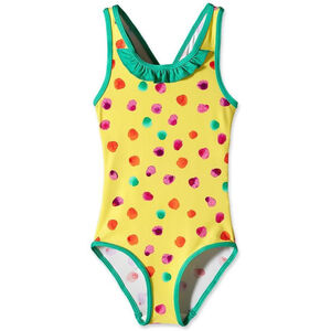 Patagonia Baby QT Barn fingerpaint dots: pineapple fingerpaint dots: pineapple