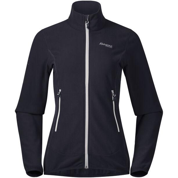 Bergans Lovund Fleece Jacket Dam dark navy/aluminium